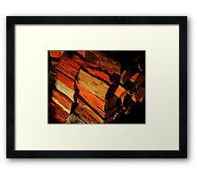 """ Keep the Hearth Burning""... Framed Print"