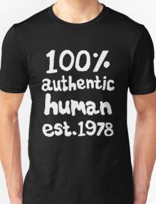 100 Percent White Unisex T-Shirt