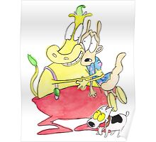 Rocko, Heffer and Spunky Poster