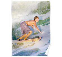 Surfer 5742 Poster