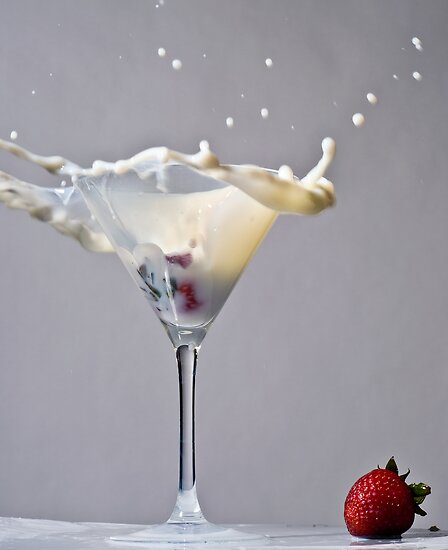 Strawberry Milkshake by Paul Clarke