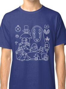 Ghibli in black Classic T-Shirt
