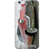 1957 Pink Cadillac at the Drive In. iPhone Case/Skin