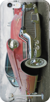 1957 Pink Cadillac at the Drive In. by Ferenghi