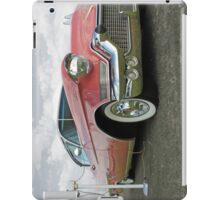 1957 Pink Cadillac at the Drive In. iPad Case/Skin