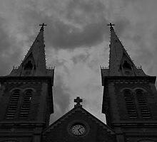 Saigon Notre-Dame Basilica by Matthew Stewart