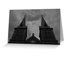 Saigon Notre-Dame Basilica Greeting Card