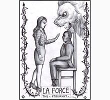 Hannibal tarots - La force - BW Unisex T-Shirt