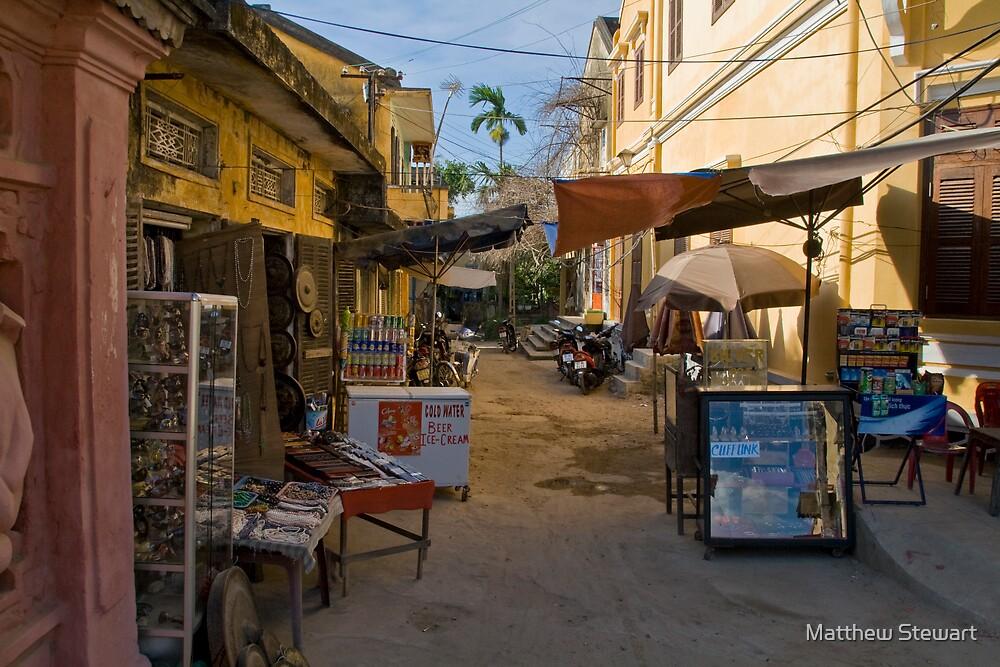 Empty Alley (Hoi An, Viet Nam) by Matthew Stewart