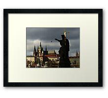 Prague Heritage Framed Print