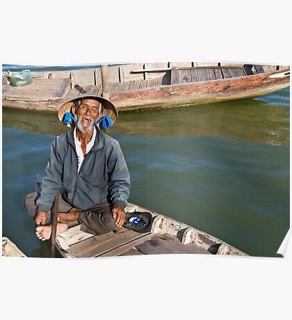 Old Man River (Hoi An, Viet Nam) Poster