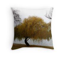 Lake Wakatipu, Queenstown NZ Throw Pillow