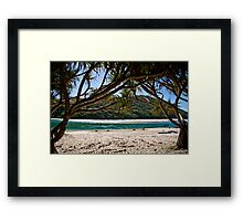 Tallebudgera Beach Framed Print