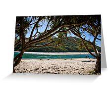 Tallebudgera Beach Greeting Card