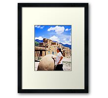 The American Indian Framed Print