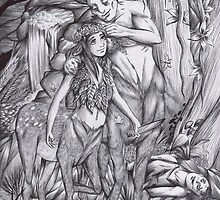 Hannibal - Wendigocentaurs by Furiarossa