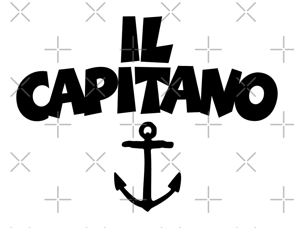 Il Capitano by theshirtshops