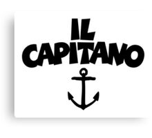 Il Capitano Canvas Print