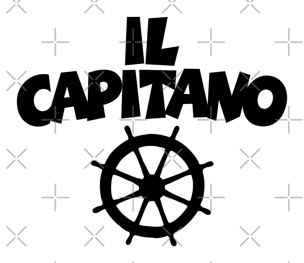 Il Capitano Wheel by theshirtshops