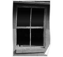 Window to empty Poster