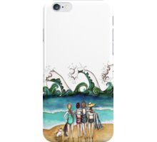 Four and a dog iPhone Case/Skin