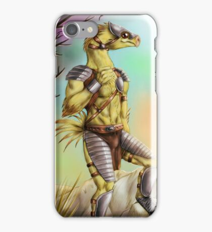Anthro chocobo iPhone Case/Skin