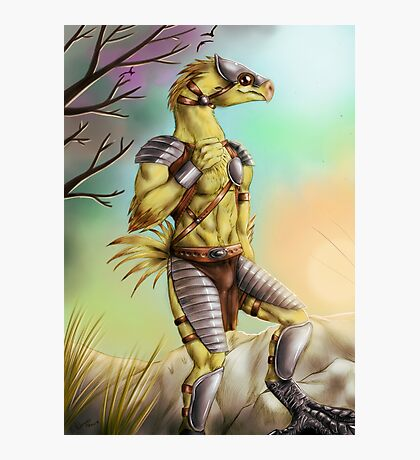Anthro chocobo Photographic Print