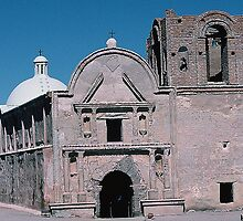 Old Spanish mission by dragonsnare