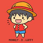 Monkey D. Luffy by Guidux