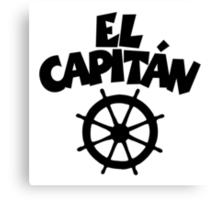 El Capitán Wheel Canvas Print