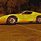 Yellow Purvis Eureka at Night by Ferenghi