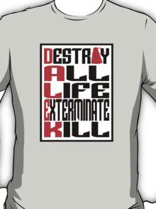 Dalek Manifesto T-Shirt