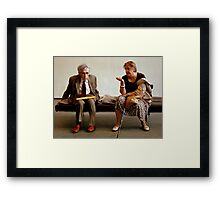 Real People Framed Print
