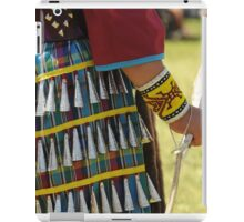 Pow wow jingle dress dancer iPad Case/Skin