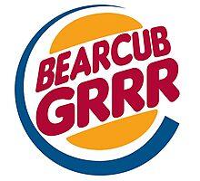 Bear Cub Grrr Photographic Print