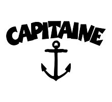 Capitaine Ancre Photographic Print