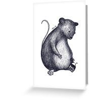 The new pet Greeting Card