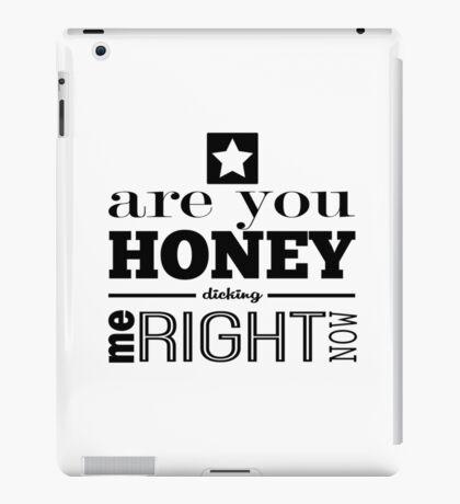 Honey Dicking w/ Star iPad Case/Skin