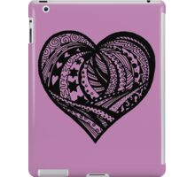 Valentine Heart 5  Aussie Tangle - see Description Notes re background colours iPad Case/Skin