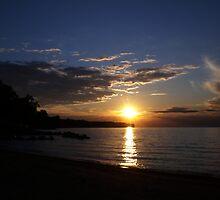 Sunset: Lake Erie II  by Rachel Counts