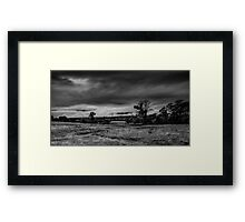 Mist on the Plains Framed Print
