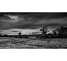 Mist on the Plains Photographic Print