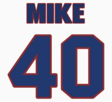 Basketball player Mike Niles jersey 40 by imsport