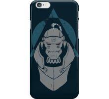 Alphonse Elric Grunge iPhone Case/Skin