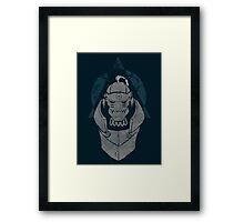 Alphonse Elric Grunge Framed Print