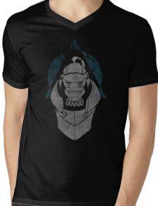 Alphonse Elric Grunge Mens V-Neck T-Shirt