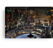 Lotte World From Above Canvas Print