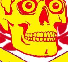 psychobilly insignia Sticker