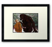 Hannibal - Bigger, Better, Monster Framed Print