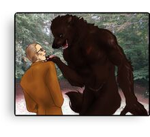 Hannibal - Bigger, Better, Monster Canvas Print